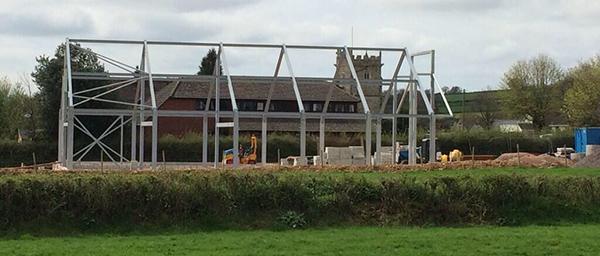 Kilmington Baptist Church Steel Framework