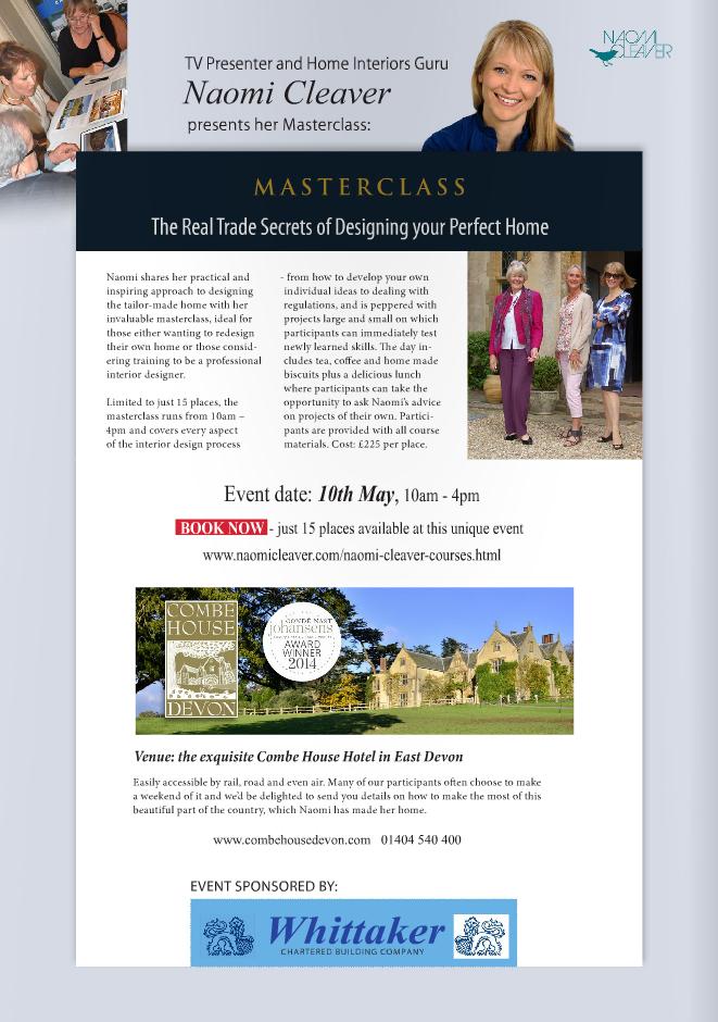 Naomi Cleaver Masterclass May 2014